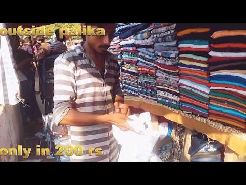 Delhi underground market...best market in delhi for girls and boys..lather jacket starting500rs