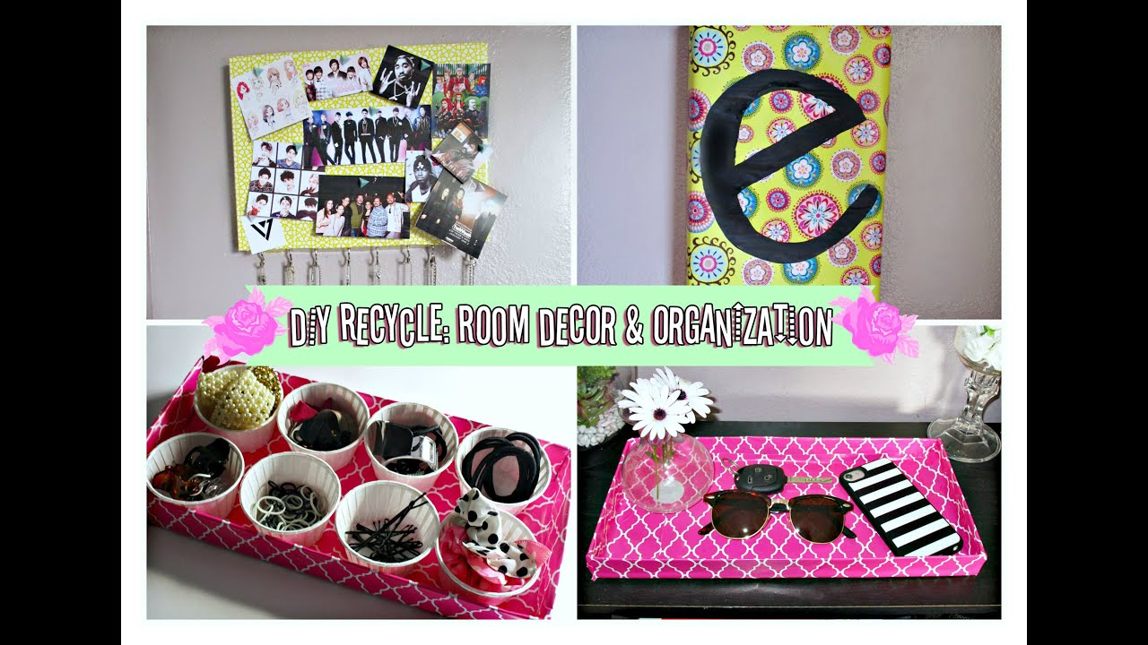 diy room decor & organization ideas for spring!/ recycling shoe