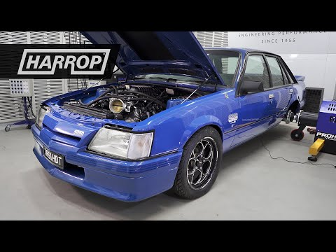 Supercharged VK Commodore | Harrop LSA-H2650i