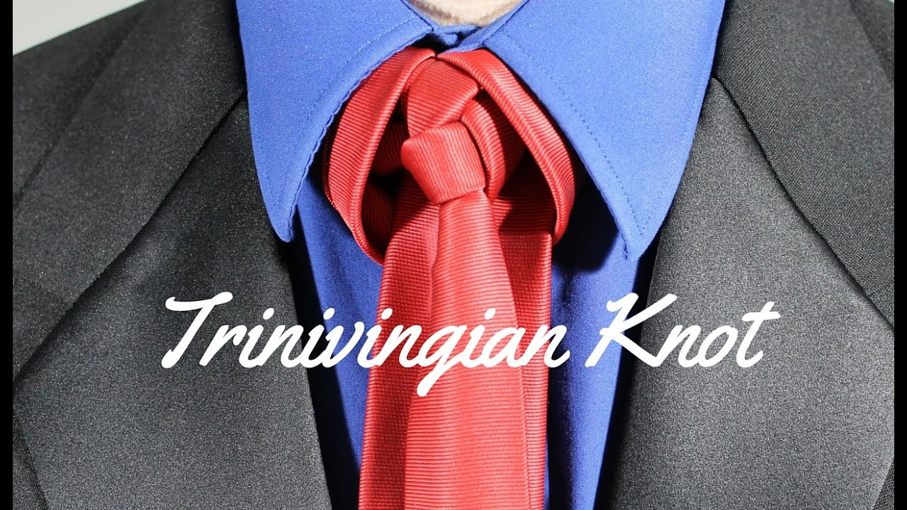 How to tie a tie trinivingian knot youtube how to tie a tie trinivingian knot ccuart Image collections