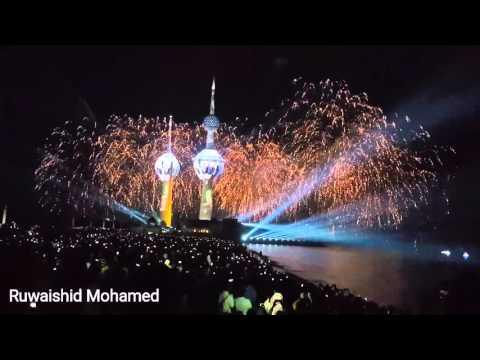 Kuwait Tower Firework show 2016