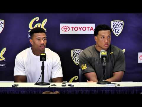 Cal Football: Stephan McClure & Hardy Nickerson Press Conference (10/31/15)