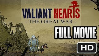 VALIANT HEARTS FULL MOVIE - Full Gameplay Walkthrough (All Collectibles) (All Collectibles) 1080p