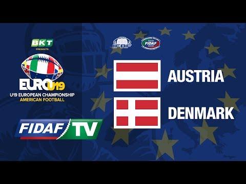 Euro U19:  Austria Vs Denmark