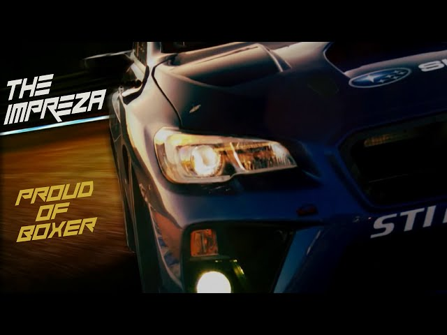 THE IMPREZA WRX STI ** Proud of BOXER **