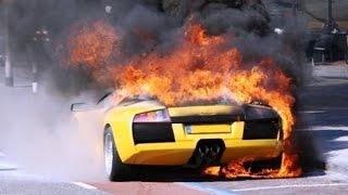 Аварии авто. #дорогобогато Аварии дорогих машин.