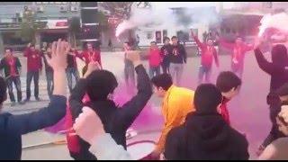 ultrAslan MANISA | Salihli'de Voleybol Maçı Öncesi