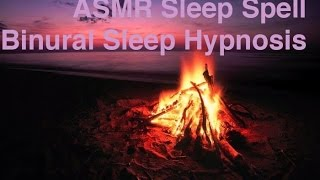 ASMR Sleep Spell: Binaural Sleep Hypnosis with layered audio