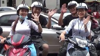 【越南新玩法】奧黛小姐機車導遊帶你吃喝玩樂胡志明市  New way of tour ladies in Ho Chi Minh city - XO Tours thumbnail