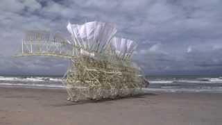 Esculturas impulsadas por el viento aergia energetica