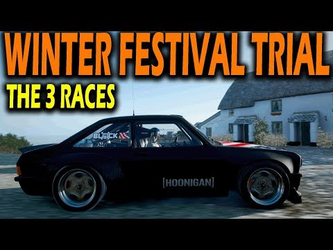 "Forza Horizon 4 ""WINTER Festival TRIAL - What To Expect - Series 13"""