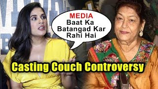 ANGRY Richa Chadda SLAMS Media Over Saroj Khan Casting Couch Controversy