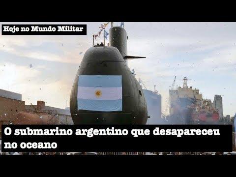 O submarino argentino que desapareceu no oceano