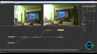 Видеоурок по Fusion, постобработка интерьера