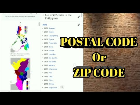 postal code meaning in english