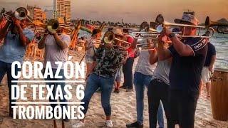 Corazón de Texas con 6 trombones 😮