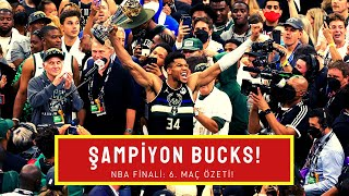 MAÇIN ARDINDAN: Bucks - Suns ÖZET! ŞAMPİYONUMUZ VAR! Giannis, Booker, Middleton, Chris Paul, Holiday