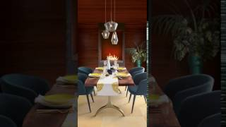 Video Dining Room Fireplace #mywestelm download MP3, 3GP, MP4, WEBM, AVI, FLV Agustus 2018