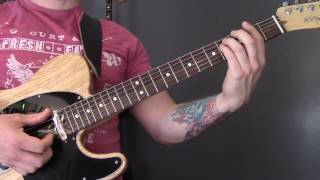Foals - Lonely Hunter Guitar Lesson