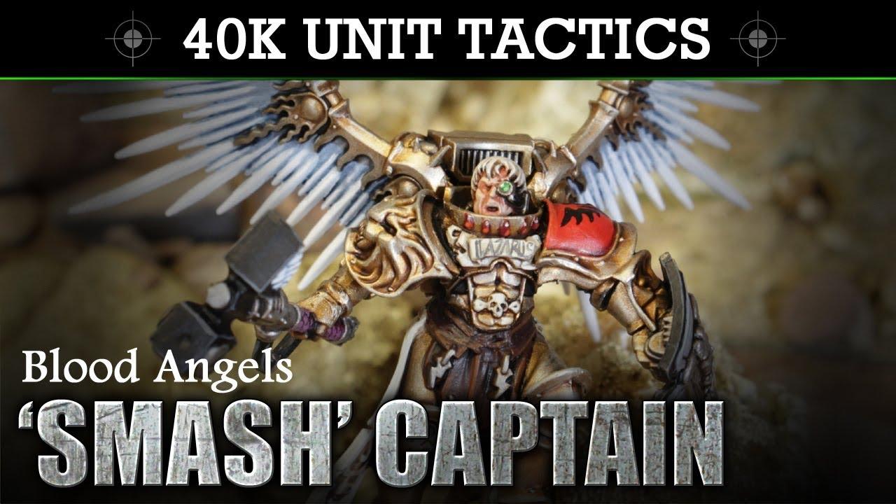 Blood Angels 'Smash' Captain (Slamguinius) Warhammer 40K ...