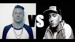 Macklemore VS Eminem - Speed Rap Battle