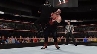 PC世界摔角娛樂WWE 2K16 - 維德[ Vader] Vs. 傑利·勞勒[情人節大屠殺'99] [普通規則賽]【WWE冠軍'13~'14】[27/11/'16]