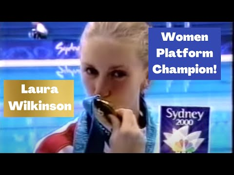 2000 Laura Wilkinson USA - 5251D - 8.5s 9s - Olympic Win ...