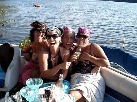 Milfs gone wild on boats