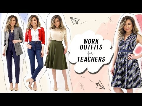 WORK OUTFITS for Teachers & Creatives   Cute Business Casual Outfit Ideas Modcloth   Miss Louie