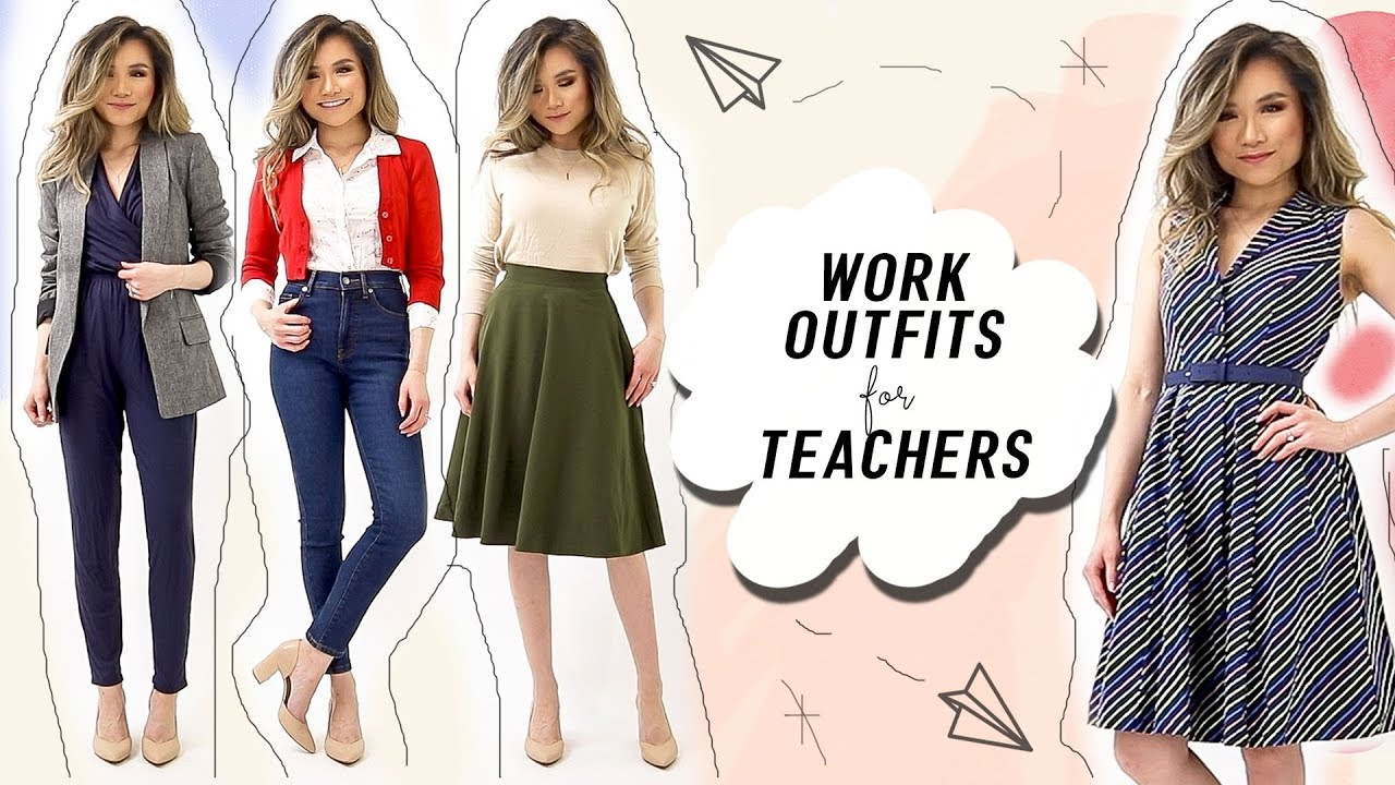 Work Outfits For Teachers Creatives Cute Business Casual Outfit Ideas Modcloth Miss Louie