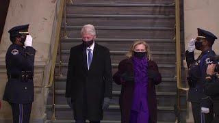 Inauguration Day, gli ex presidenti americani al Campidoglio per Joe Biden