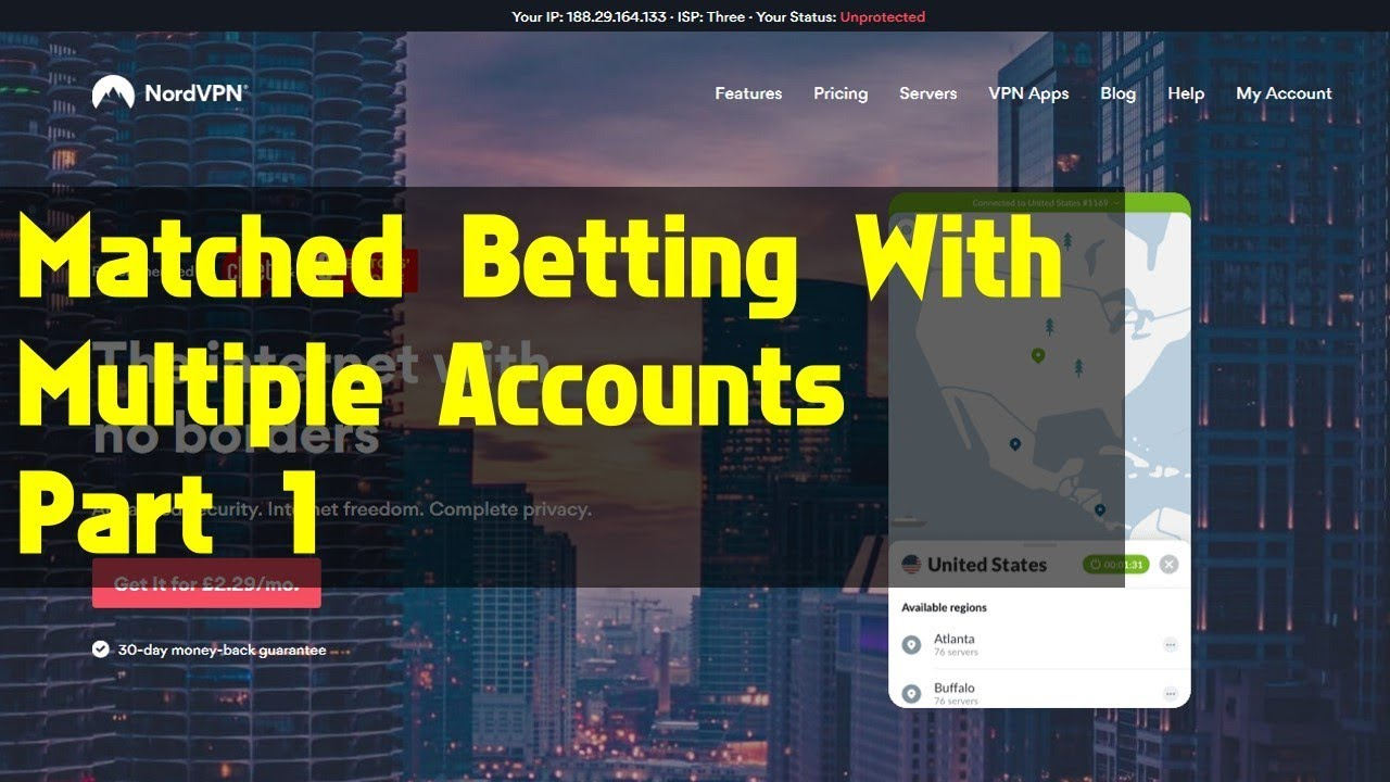 Multi account matched betting mlb betting lines explanation of dreams