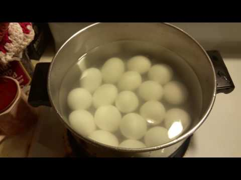 How to boil eggs and have them peel easy