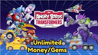 Angry Birds Transformers Unlimited Money And Gems Mod No Root