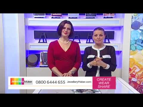 How To Make Gemstone Jewellery - JewelleryMaker LIVE (am) 20/01/2015