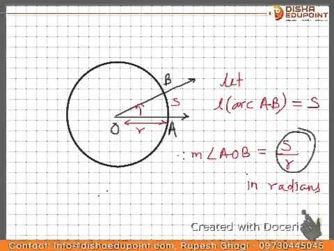 Angle and its measurements : sexagesimal, circular, centisimal systems