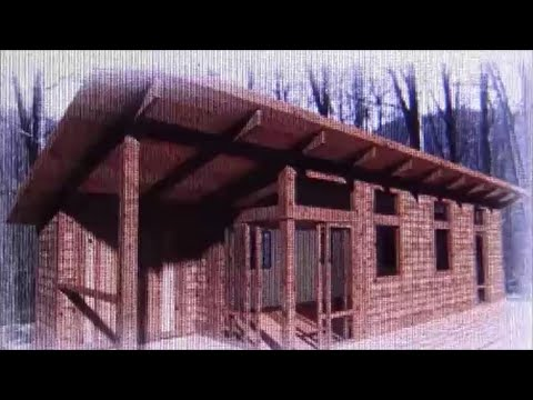 Tiny house cabin highly energy efficient off grid youtube for Energy efficient cabin