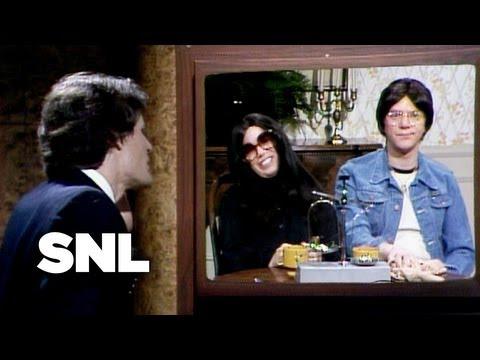 John Lennon and Yoko Ono - Saturday Night Live