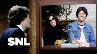 Subscribe to SaturdayNightLive: http://j.mp/1bjU39d Weekend Update: http://j.mp/16y5Pt6 SEASON 6: http://j.mp/1dVARMV Charlie interviews Lennon and Ono ...