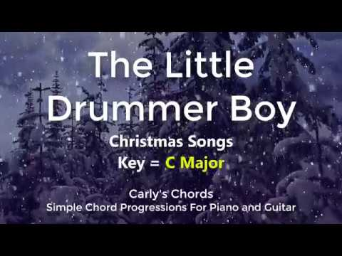Little Drummer Boy Chords Key C Maj Youtube