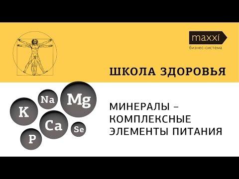 Минеральные вещества макро и микроэлементы