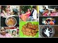 Eve Vlog | ఇదిగో మా అన్నయ్య, వదిన | Aarush ప్రేమ ఇలా ఉంటుంది :(  Oreo Milkshake | Chicken 65 recipe