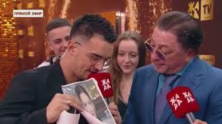 Григорий Лепс на красной дорожке премии Жара, 4 марта 2018