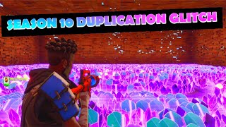 *EASY* SEASON 10 DUPLICATION GLITCH FORTNITE SAVE THE WORLD