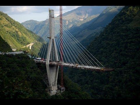 Demolición del Puente Chirajara vía a Bogotá-Villavicencio | Noticias Caracol