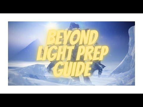 Destiny 2: The ULTIMATE Beyond Light Prep Guide! |