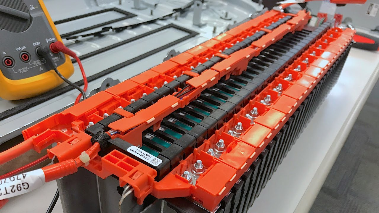 High Voltage Hybrid Systems 2017 Toyota Prius Li Ion Battery