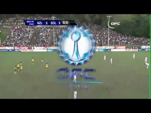 New Zealand / Salomon Islands - Les buts