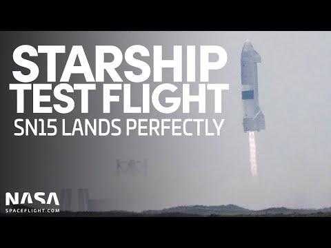 Starship SN15 Test Flight & Landing - NASASpaceflight
