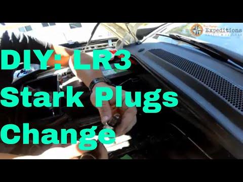 LR Maint Ep2  DIY: Land Rover LR3 spark plug change.